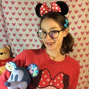 Adorable Minnie Mouse Baby Ears Light Weight